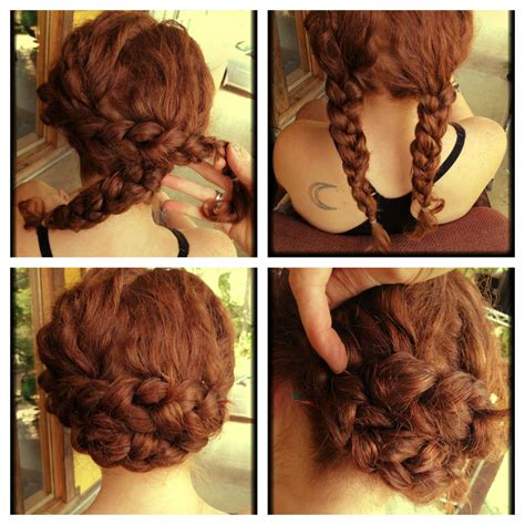 photo  easy updos  long curly hair