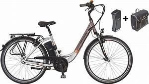 E Bike Von Prophete : prophete e bike city inkl 2 akku u packtasche 28 zoll ~ Kayakingforconservation.com Haus und Dekorationen