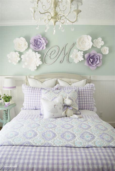 home  heidi purple turquoise  girls room
