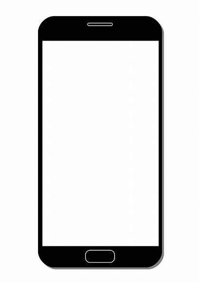 Smartphone Icon Pixabay Phone Panel Mobile Symbol