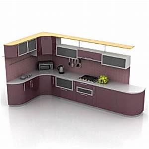 3d model kitchen category kitchen furniture With kitchen furniture 3d model free download
