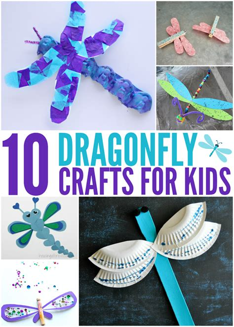 super easy diy dragonfly crafts  kids adults