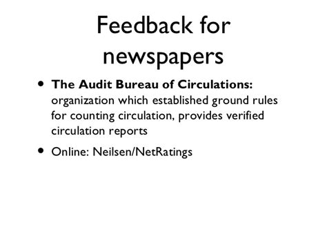 audit bureau of circulations newspapers com 101 chapter 5 newspapers