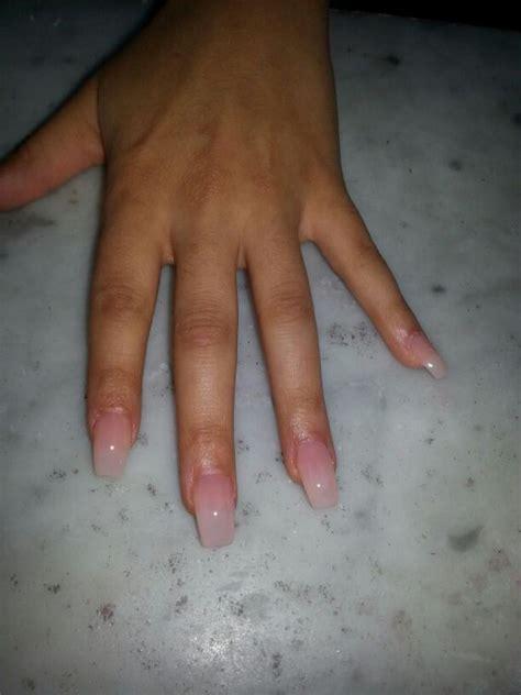 natural coffin shape nails nails pinterest shape