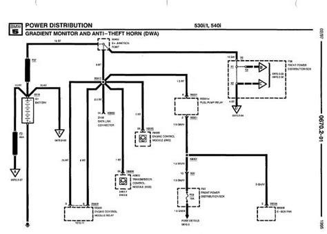 1994 Bmw 525i Wiring Diagram by Repair Manuals Bmw 525i 525it 530i 530it 540i 1995