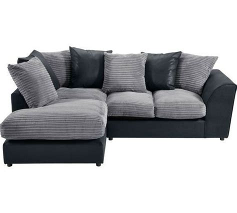 bed settees argos argos used corner sofa in grey suade and black leather