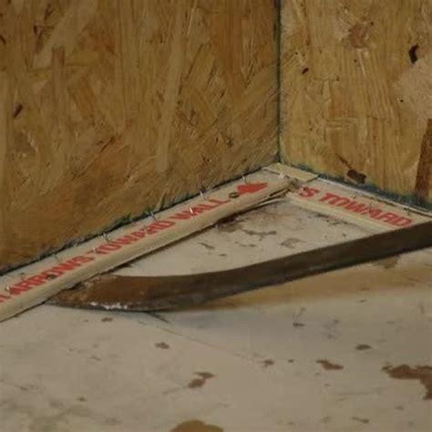 remove vinyl asbestos tiles nailed tack strips