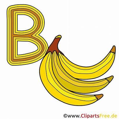 Buchstaben Clipart Banana Vorlagen Englisch Alphabet Ausdrucken