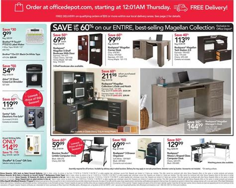 Office Depot Hours Black Friday by Office Depot Black Friday Ad Scan For 2018 Black Friday