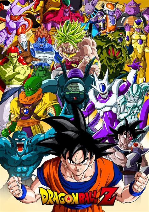 dragon ball collection movies movie posters info