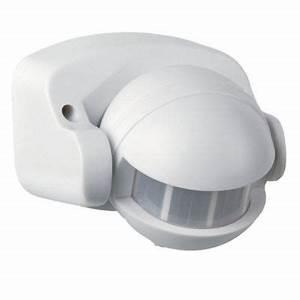 Lampe Detecteur De Mouvement Brico Depot : d tecteur de mouvement ext rieur gaspra blanc 180 castorama ~ Dailycaller-alerts.com Idées de Décoration