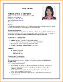 resumes that work exles of resumes that work high school student resume