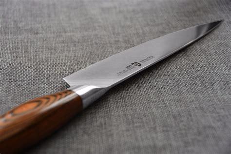 knife cutlery tuo german fiery chef steel pheonix pakkawood handle knives