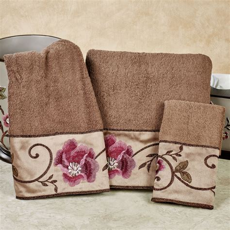Decorative Towel Sets by Decorative Towel Sets For Bathroom Best Home Design Ideas
