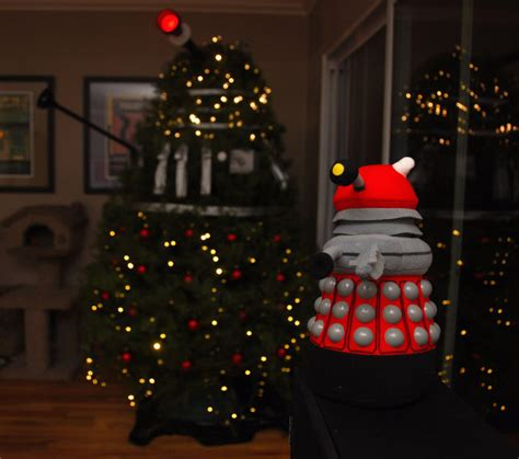 No Tardis Tree Topper Dalek Themed  Ee  Christmas Ee   Tree