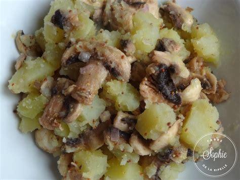cuisiner la patate douce au four salade de pommes de terre tiède aux chignons crus la