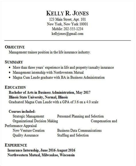 resume sample  fresh graduate  designed  fresher