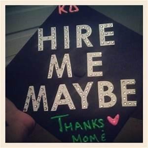 funny graduatio... Creative Graduation Cap Quotes