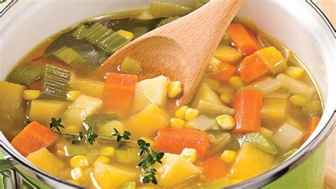 bouillon blanc en cuisine soupe aux légumes d 39 automne recettes cuisine et