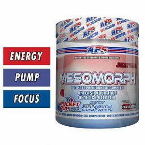 Mesomorph Pre Workout Banned In Australia