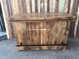 Bar En Bois : annonces class es qu bec lot cuisine ou bar rustique bois solide avec portes de grange vendre ~ Teatrodelosmanantiales.com Idées de Décoration