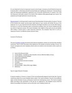 create an impressive resume create impressive resumes using resume templates