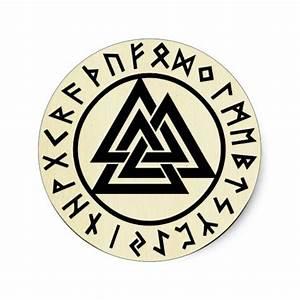 Asatru, old norse religion, symbols, odin & Thor Classic ...