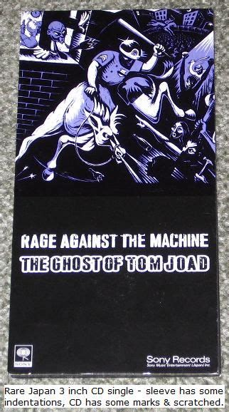 Rage Against The Machine The Ghost Of Tom Joad Vinyl ...