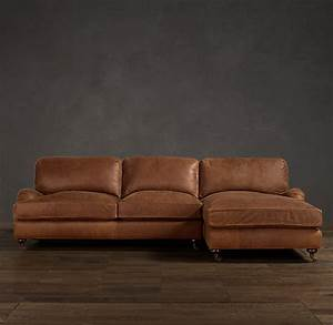 distressed leather sofa with chaise couch sofa ideas With distressed leather sectional sofa with chaise