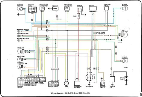 250 Volt Schematic Wiring Diagram by 7 Best Images Of Honda Z50 Wiring Diagram 1999 Honda Z50