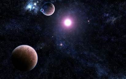 Solar System Space Dual Monitor Wallpapers 1080p
