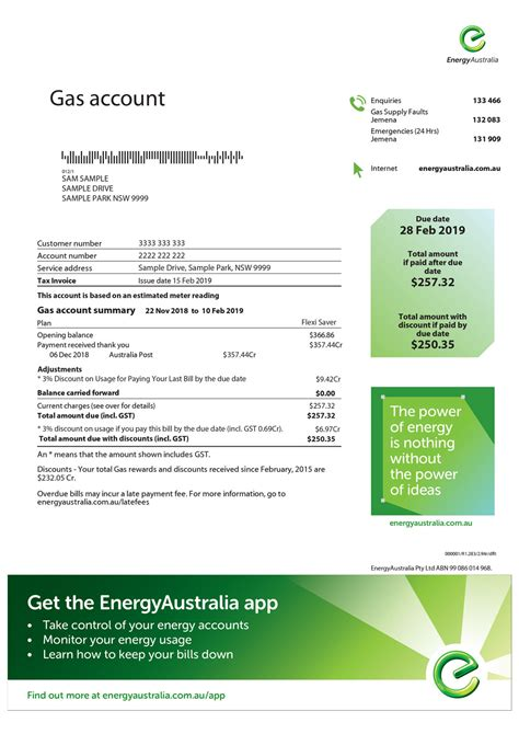 billing guide electricity bill explained energyaustralia