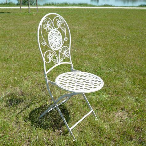 patin pour chaise en fer forge paire de chaises en fer forg 233 pour salon de jardin tables bancs