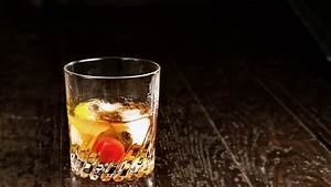 Wallpaper Cocktails  Whiskey  Ice  Lemon  Cherry  Food  786
