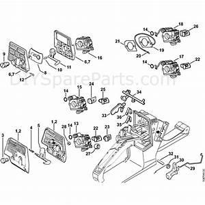 Stihl 026 Chainsaw  026wvh  Parts Diagram  Air Filter