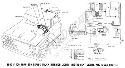 1963 Ford Truck Brake Light Wiring Diagram by Ford Truck Technical Drawings And Schematics Section H