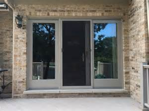 frenchwood andersen gliding patio door barkwood gaf roofing velux skylights in elmhurst