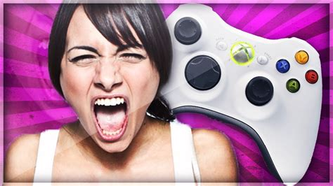 Angriest Girl Gamer On Xbox Live Xbl Rage Youtube