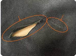 comment reparer canape cuir dechire With reparer trou canapé cuir