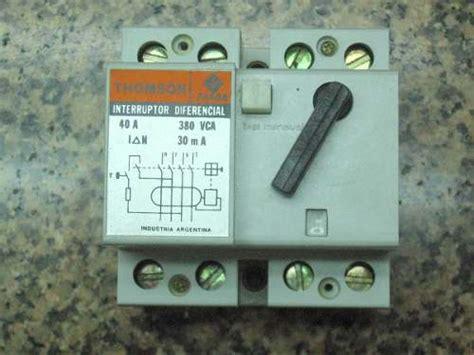 solucionado interruptor diferencial o disyuntor yoreparo