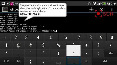 android terminal commands comandos para terminal emulator android parte 2