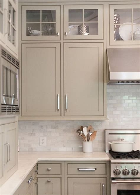 painted gray kitchen cabinets neutral painted cabinets gray greige taupe and gray
