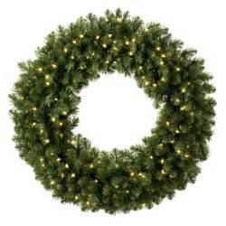 artificial christmas wreaths sequoia fir prelit commercial christmas wreath clear lights