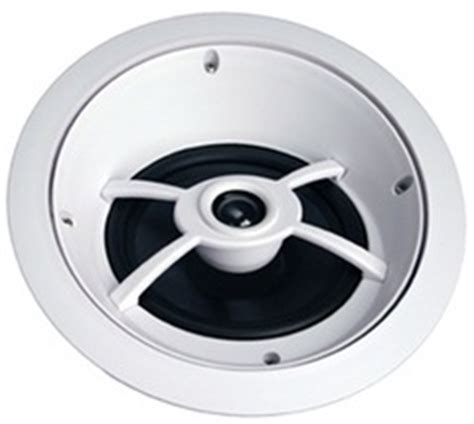 Angled In Ceiling Surround Speakers by Channel Vision Ic824 8 Angled Professional In Ceiling Speaker