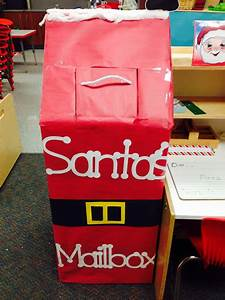 letters to santa mailbox christmas pinterest santa With letters to santa mailbox decoration