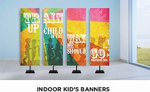 Children Ministry Banners | ChurchBanners.com