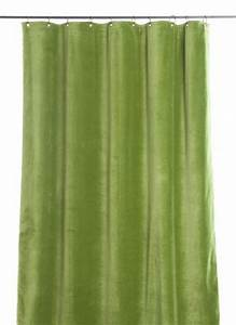 Rideau Velours Vert : tosca rideau vert ~ Teatrodelosmanantiales.com Idées de Décoration