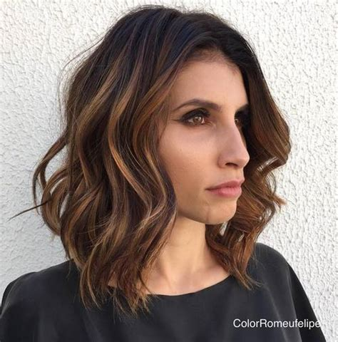 super chic hairstyles  long faces  break   length
