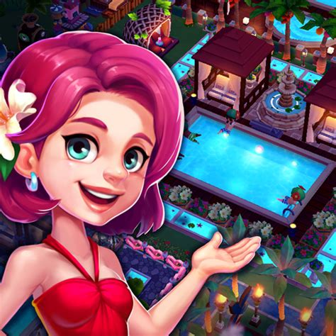 paradise resort management game  mod