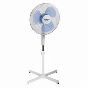 Ventilateur Pas Cher : acheter ventilateur sur pied bestron blanc 45 cm 40 w pas ~ Edinachiropracticcenter.com Idées de Décoration